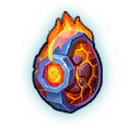 An image of a Brick Dragon Egg