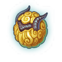 An image of a Golden Fleece Dragon Egg