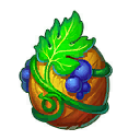 The Grape Dragon in Dragons World
