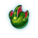 The Watermelon Dragon in Dragons World