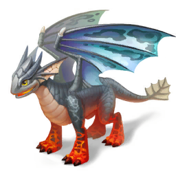 An image of the Ash Dragon
