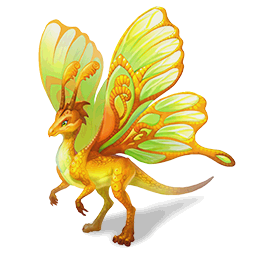 An image of the Butterfly Dragon