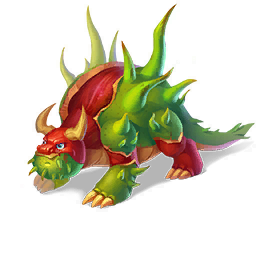An image of the Chestnut Dragon