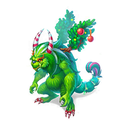 An image of the Christmas Thief Dragon