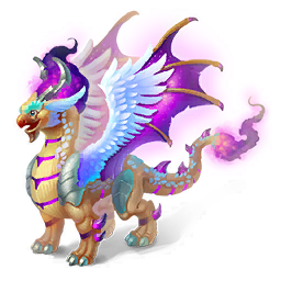 An image of the Dark Fire Dragon