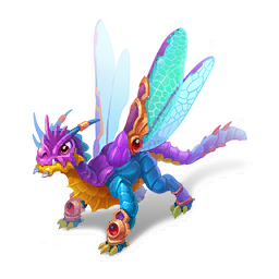 An image of the Dragonfly Dragon