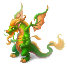 An image of the Eastern Dragon