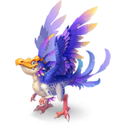 An image of the Feathery Dragon