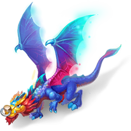 An image of the Fireworks Dragon