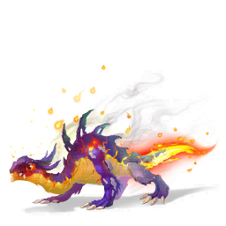 An image of the Flaming Dragon