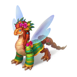 An image of the Flower Dragon