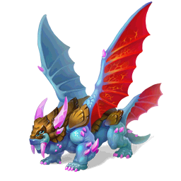 An image of the Four Winged Dragon