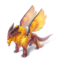 An image of the Golden Fleece Dragon