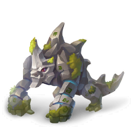 An image of the Golem Dragon