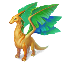 An image of the Herbivore Dragon