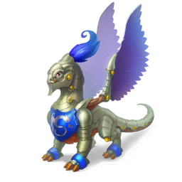 An image of the Knight Dragon
