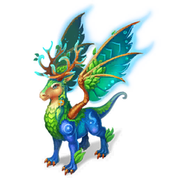 An image of the Nature Magic Dragon