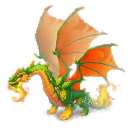 An image of the Opal Dragon
