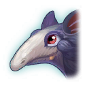 A Headshot of Anteater Dragon