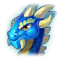 A Headshot of Azure Dragon