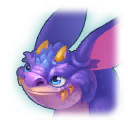 A Headshot of Bat Dragon