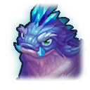 A Headshot of Blizzard Dragon