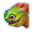 A Headshot of Cactus Dragon