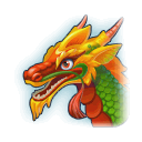 A Headshot of Chinese Dragon