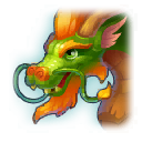 A Headshot of Eastern Dragon