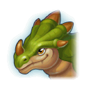A Headshot of Ferocious Dragon