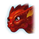 A Headshot of Fire Dragon