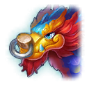A Headshot of Fireworks Dragon