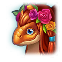 A Headshot of Flower Dragon