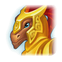 A Headshot of Gladiator Dragon
