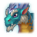 A Headshot of Gothic Dragon
