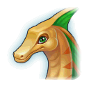 A Headshot of Herbivore Dragon