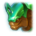A Headshot of Insect Like Dragon