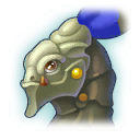 A Headshot of Knight Dragon