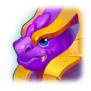 A Headshot of Mirror Dragon