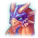 A Headshot of Mithril Dragon