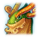 A Headshot of Mythical Dragon