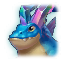 A Headshot of Quartz Dragon