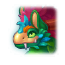 A Headshot of Seasonal Dragon