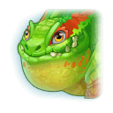 A Headshot of Swamp Dragon