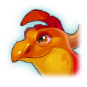 A Headshot of Two Humped Dragon