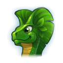 A Headshot of Water Lily Dragon
