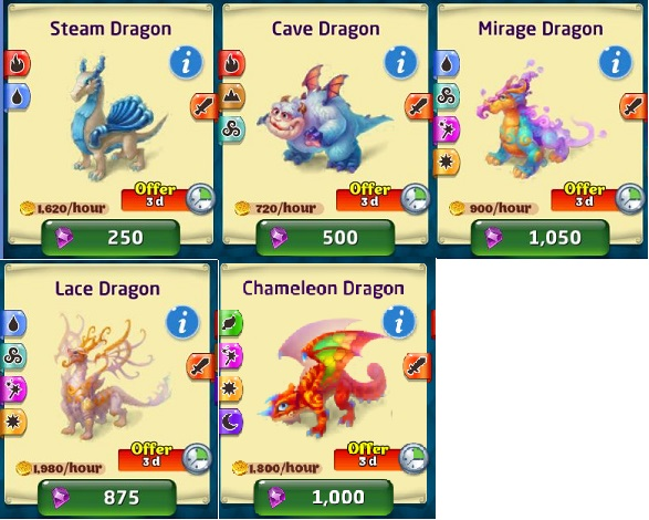 Dragon discounts 121814 store
