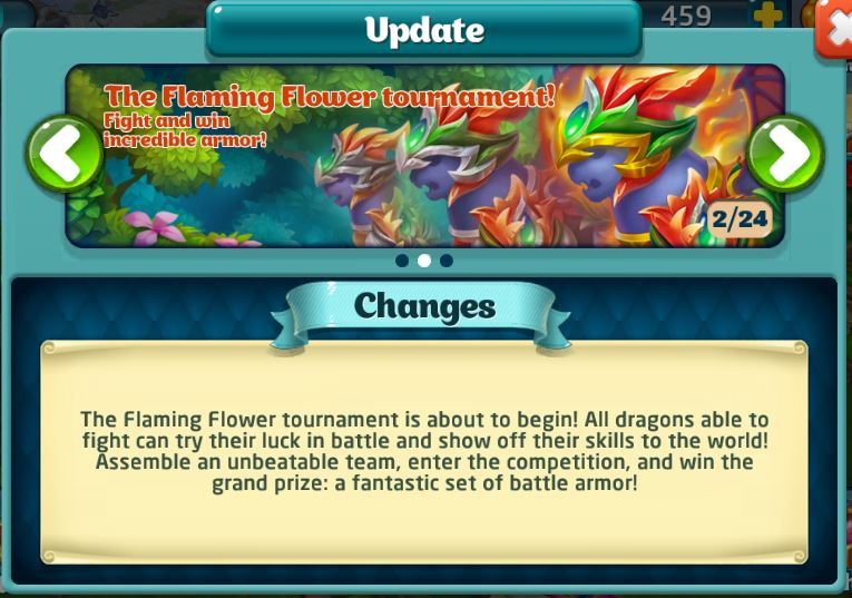 Flaming Flower tournament