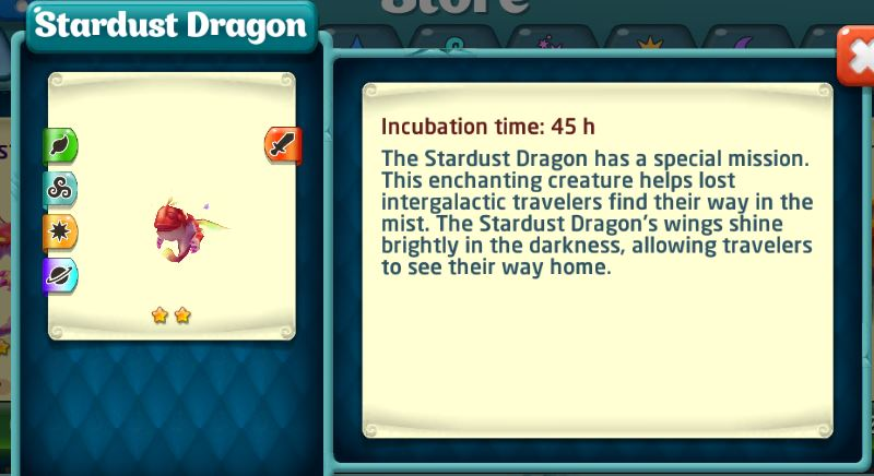 Stardust Dragon store