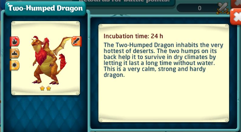 two humped dragon